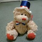 TY Beanie Baby - INDEPENDENCE the Bear (Red Version) (8 inch) Birthday: 7/4/06