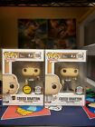 Funko Pop! The Office Creed Bratton CHASE Set Specialty Series W Prot Case