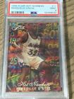 1995 Shaquille ONeal Flair Hot Numbers PSA 9 Lakers Magic HOF