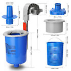 New Above Ground Swimming Pool Surface Skimmer Cleaning Tool Wall Mount Basket