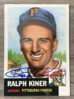 2001 Topps Archives Ralph Kiner Pittsburgh Pirates Auto Autograph 38 170