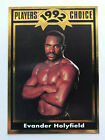 Evander Holyfield Boxing Cards and Autographed Memorabilia Guide 17