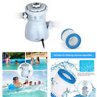 Zoetime Clear Cartridge Filter Pump Electric Swimming Pool Fr Above Ground Pools