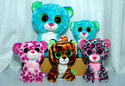 TY Beanie Boos Leopards Lot. 9
