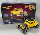 AMERICAN GRAFFITI DEUCE COUPE 124 Franklin Mint MILNERs YELLOW 32 FORD in box