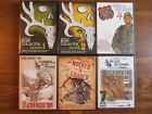 6 DEER HUNTING DVD LOT MICHAEL WADDELL BONE COLLECTOR ROAD TRIPS Sports