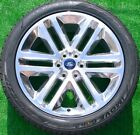 Ford F150 22 inch Wheels Tires Factory OEM spec Platinum Expedition Set Polished