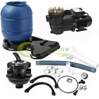 2400GPH 12 Sand Filter Above Ground 035HP Swimming Pool Pump intex compatible