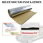 Audio Noise Insulation  Dampening Engine Heat Absorb Pad Self Adhesive 54X39