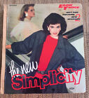 VINTAGE September 1984 Simplicity Counter Catalog Sewing Pattern Book