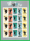 US 2021 Tap Dance imperf No Die Cut sheet of 20 Stamps MNH
