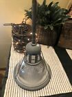 VINTAGE HOLOPHANE LOBAY No 684 INDUSTRIAL LIGHT FIXTURE W RIBBED GLASS