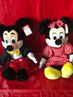 Mickey Mouse Minnie Mouse Disneyland 30th plush toys Disney Collector
