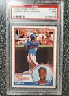 1983 TOPPS TRADED #108T DARRYL STRAWBERRY RC METS PSA 9