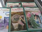 Donna Dewberrys One Stroke Painting books Lot Of 5 Flowers