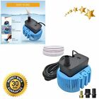 Pool Cover Pump Above Ground Sump Pumps 850GPH Water Removal With 3 Adapters