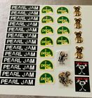 Huge Lot 32 Pearl Jam Stickers Free Shipping