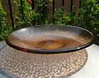 BRAND NEW COPPER ZEN bowl Fire and Light Recycled Art Glass 17 x 3
