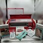 Cricut Cake Red Personal Electronic Cutting Machine for Cake Decorating Tested