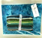 Boundless SEA GRASS Fat Quarters 20 Pieces  One Yard of OASIS Fabric LOT of 2