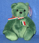 TY BASILICO the BEAR  BEANIE BABY - MINT with MINT TAGS - EUROPEAN EXCLUSIVE