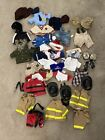 Build A Bear Lot of Boy clothes and shoes 40 Items