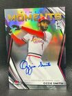 2021 Topps Finest Ozzie Smith Finest Moments Autograph On-Card AUTO #FMA-OS