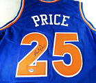 MARK PRICE AUTOGRAPHED CLEVELAND CAVALIERS CUSTOM BASKETBALL JERSEY PSA DNA