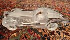 DAUM CRYSTAL SCULPTURE CAR RIVIERA COUPE BUGATTI SIGNED FRANCE 15 KEPT IN CASE
