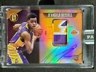 2015-16 Panini Gold Standard D'Angelo Russell RC Patch Auto 2021 Black Box 1 1