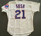Sammy Sosa Signed Authentic Chicago Cubs Jersey