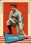 Lou Gehrig Cards, Rookie Cards, and Memorabilia Guide 52