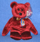 TY BUCKINGHAM the BEAR BEANIE BABY - UK EXCLUSIVE - MINT with TAG - SEE PICS