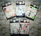Lot of 5 THE HAPPY PLANNER Sticker Pads 2823 Scrapbooking Stickers NEW 30 pgs ea