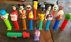 Large Lot of 18 Pez Dispensers 1979 Wonder Woman, Truck, Mickey, Bozo, And More!