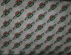 8 YARDS NEW FRIENDS CENTRAL PERK LOGO PRINT WHITE 100 COTTON FABRIC FREE SHIP