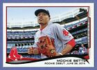 2014 TOPPS UPDATES SERIES, #US-301, MOOKIE BETTS ROOKIE CARD, BOSTON RED SOX