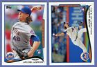 2014 TOPPS UPDATES SERIES, #US-50 & US-57, JACOB DEGROM ROOKIE CARDS, METS