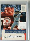 Johnny Damon 2002 Topps Auto Signature Moves Autograph Red Sox