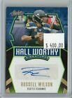 Russell Wilson 2020 Panini Absolute Auto Hall Worthy Autograph #d 1 5 Seahawks