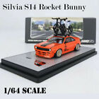 INNO 1 64 Model Car Nissan Silvia S14 Rocket Bunny Alloy Vehicle Die cast Gifts