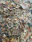 worldwide stamps collection lot LOOK off paper  on 15 Tare lbs 1800 1900 +