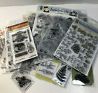 HUGE LOT of Hot Off the Press HOTP Acrylic Stamps Sets Acrylic Stamps Assorted