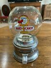 Vintage Ford Gumball Hard Candy Machine  Nice Condition Glass  Chrome