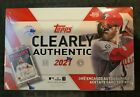 Topps Clearly Authentic Baseball MLB 2021 Box Factory Sealed