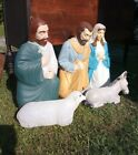 EMPIRE Nativity Blow Mold 5 Piece Set Lighted Christmas Empire Products
