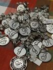 Charms Reseller Lot 43 Pieces Ganz Pendant Initials NWT Key Charms