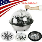 New 16 19 Leaf Bowl Trimmer Stainless Twisted Spin Cut for Plant Bud Flower CE