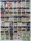 Huge Lot of 50 Packs Scrapbooking Stickers All Sticko Many Themes No Duplicates