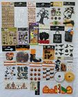 Halloween Scrapbook Stickers Embellishments Large Lot of 30 Recollections + More